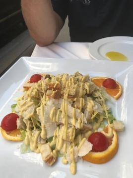 Caesar salad was delicious!