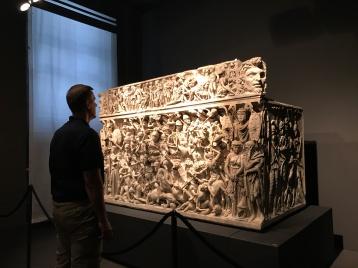 A fascinating sarcophagus