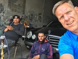 The brothers who own the Palestinian car wash