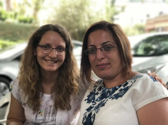 Magdalena and Fatan, members of the Nazareth congregation